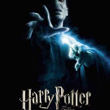 Harry Potter and the Order of the Phoenix (UK) 11x17 Movie Poster (2007)