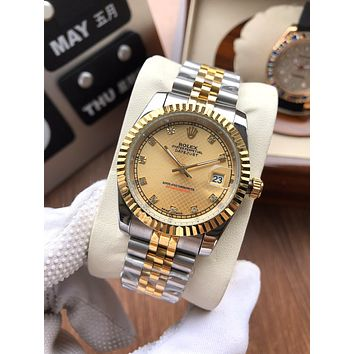 ROLEX Vintage Fashion Quartz Classic Watch Round Ladies Women Men wristwatch On Sales Jovia