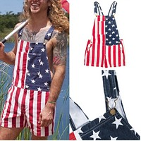 New cross border Independence Day Flag lovers' pants