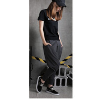 Hot salesNew Hot Mens Womens Hip Hop Harem Pants Drop Crotch Sweatpants Trousers Slacks free shipping