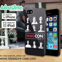 Magcon Face fitted Case for iPhone 4/4S/5/5S/5C, iPod Touch 5, and Samsung Galaxy S3/S4/S5/Note 3
