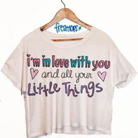 The Little Things Crop Shirt