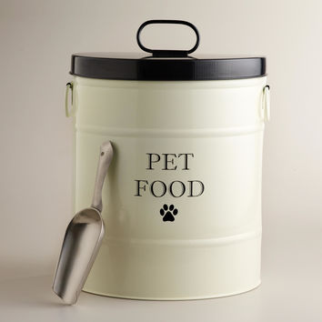Pet Food Canister with Scoop - World Market