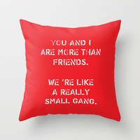 You and I Throw Pillow by Deadly Designer