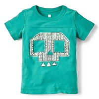 Boy's Tea Collection 'Craneo' Graphic Football T-Shirt ,