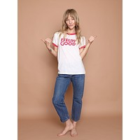 Feelin' Good Ringer Tee