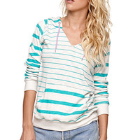 Volcom Split Striped Pullover Hoodie at PacSun.com