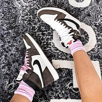 Air Jordan 1 x Travis Scott Barb Sports Running Shoes