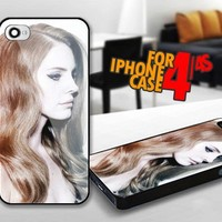 LANA DEL REY for iPhone 4 / 4s Black case