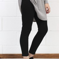 Favorite Comfy Leggings {Black}