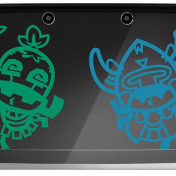 Monster Hunter Ultimate Cha Cha OR Kayamba Decal for 3DS OR 3DS XL