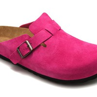 Birkenstock Boston Microfiber COLOR: Pink