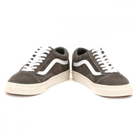 Vans Mens Gunmetal Grey Retro Sport Old Skool Trainers