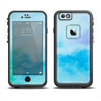 The Subtle Green & Blue Watercolor V2 Apple iPhone 6 LifeProof Fre Case Skin Set