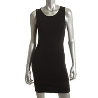 Guess Womens Sleeveless Lace Applique Clubwear Dress