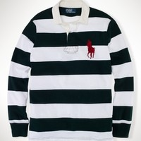 Custom-Fit Striped Rugby