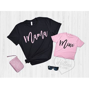Mama and Mini Me Matching Mommy and Me Shirts