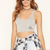 Off Limits Graphic Crop Top