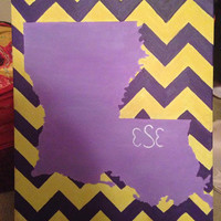 State Monogrammed Painting!