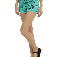 Disney The Little Mermaid Ariel Polka Dot High-Waisted Shorts