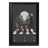 Jack Skellington Crosswalk Holloween Geeky Wall Plaque Key Holder Hanger