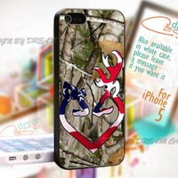 Deer Camo Logo Country - Print On Hard Case iPhone 5 Case