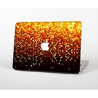 """The Faded Gold Glimmer Skin Set for the Apple MacBook Pro 13"""" with Retina Display"""