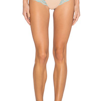 Commando Tulip Hybrid Cross Dyed Thong in Ice Blue