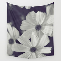 Friendly Flowers Wall Tapestry by Jessica Torres Photography