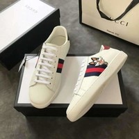 Best Deal Online Gucci Women Men Ace embroidered sneaker
