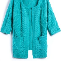 Essential Candy Color Cardigan - OASAP.com