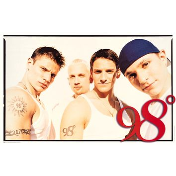 """98 Degrees Poster (22""""x34"""")"""
