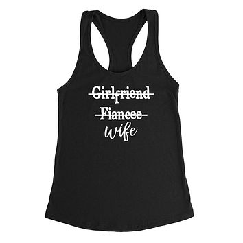 Girlfriend fiancee wife Tank Top