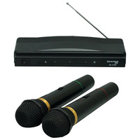 QFX M-336 Twin Pack Wireless Dynamic Microphone System