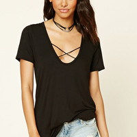 Scoop-Neck Strappy Top