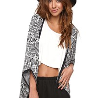 Roxy Days Away Cardigan - Womens Sweater - Black -