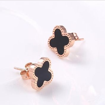 Pendant Stainless Steel Stud Earrings