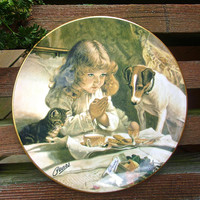 """Fine Bone China PEARS Plate by Royal Grafton """"Suspense"""" Collection, Vintage"""