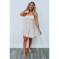 This Could Be It Dress: Cream