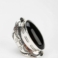 Etched Stone Ring