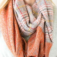 The Perfect Plaid Infinity Scarf