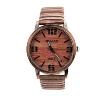 Good Price Awesome New Arrival Designer's Gift Trendy Stylish Great Deal Simple Design Leather Unisex Casual Fashion Watch [4915380740]