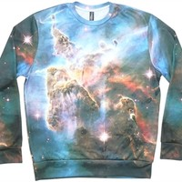 justanother.co.uk. Imaginary Foundation Clothing: Imaginary Foundation Nebula crew neck in full colour