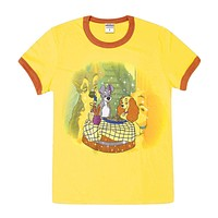 Lady & The Tramp - Pasta Girls Youth Ringer T-Shirt