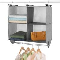 Whitmor 4-Section Hanging Closet Organizer
