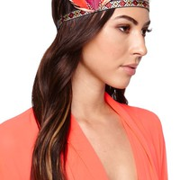 With Love From CA Mini Headdress - Womens Jewelry - Red - One