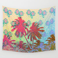 CALIFORNIA Wall Tapestry by DIVIDUS