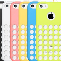Original soft case for iphone 5c Fresh silicone cover for iphone5c i phone 5 c covers Good quality cases