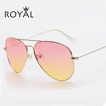 Royal Vintage Women Pilot Sunglasses SS065