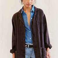 Urban Renewal Remade Short Linen Shop Coat-
